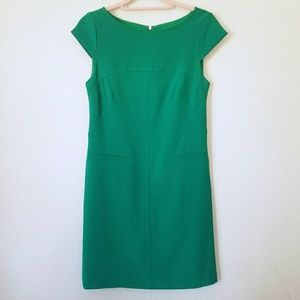 Vince Camuto Fitted Emerald Dress